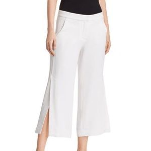 🌸New ELIE TAHARI Eloisa Wide Leg Crop Trousers